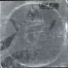 Lone Star  - Firing On All Six Canada 1977 Lp vg++