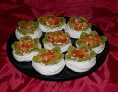 Mini Pavlova - Bunătăți din bucătăria Gicuței