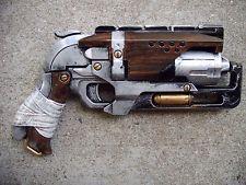 Steampunk Gun Nerf Zombie Strike Hammershot Victorian Cosplay Painted