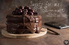 Hung Up Dark Chocolate Cake with Chocolate Mousse with Fairtrade Green & Blacks chocolate