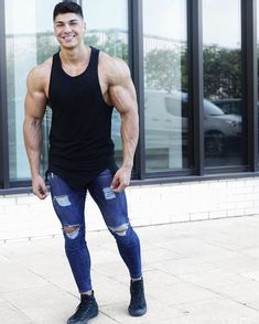 Skinny jeans for men #jeans #men #fashion #skinnyjeans