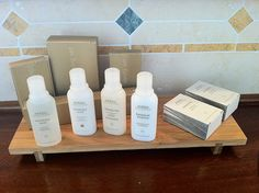 Aveda Toiletries at Locanda San Francesco, Boutique Hotel in Bamboo Curtains, Plastic Curtains, Zen Bathroom, Bathroom Curtains, Hotel Toiletries, Most Luxurious Hotels, Luxury Hotels, Hotel Amenities, Air B And B