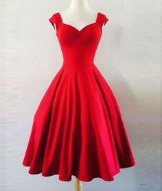 Simple red sweetheart short prom dress for teens, modest prom dress, cute homecoming dress, bridesmaid dress