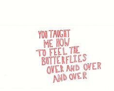 feeling the butterflies