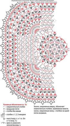 Crochet Bedspread Pattern, Crochet Doily Diagram, Crochet Doily Patterns, Thread Crochet, Crochet Motif, Crochet Doilies, Crochet Stitches, Free Crochet, Crochet Carpet