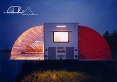 Markies mobile home by Bohtlingk Architectuur