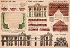 """https://flic.kr/p/nLm9jh   """"Habitations Champêtre"""" offert par Gérard   not mine ,scanned by Gérard"""