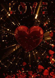 Beautiful Love Images, Love Heart Images, Love You Images, Beautiful Flowers Wallpapers, Beautiful Roses, Animated Heart, Animated Love Images, Heart Wallpaper, Love Wallpaper