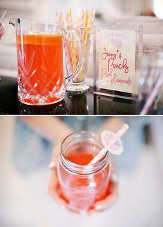 Pink GLAM onade Bridal Shower