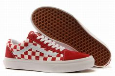 bd34c584d97 Buy Vans Old Skool Classic Checkerboard Red White Womens Shoes Super Deals  from Reliable Vans Old Skool Classic Checkerboard Red White Womens Shoes  Super ...