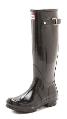 Hunter Boots Hunter Original Gloss Rain Boots - bought these!