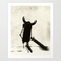 Viking Robots by Slug Draws