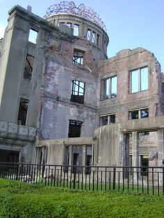 Hiroshima. The last ruin of the A-bomb attack on the city. It was weird and emotional to look at it while I was there