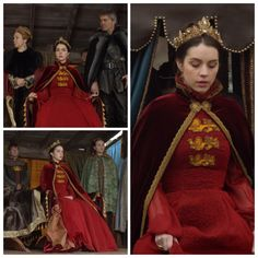 Mary's English Coat of Arms (with cloak) 1x22: Slaughter of Innocence