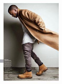 """A Brand New Ye"": Kanye West para GQ USA Agosto 2014"