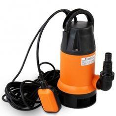 Likavesipumppu 750W, 79,95€ Todella kevyt ja kompakti verkkovirralla toimiva likavesipumppu. Ilmainen toimitus! #likavesipumppu