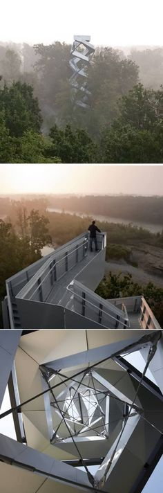 River Mur Observation Tower (Austria)