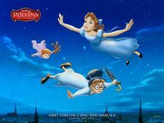 Peter Pan, filme Wallpaper