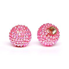 Pink Bling Valve Caps. I maybe doing too much. But it's so cute.