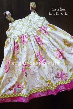 handmade childrens dresses | ... you for shopping with Sugar Creek Kids - Children's Handmade Clothing