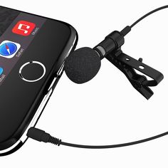 Amazon.com: Miracle Sound Deluxe Lavalier Lapel Clip-on Omnidirectional Condenser Microphone for Apple Iphone, Ipad, Ipod Touch, Samsung Android and Windows Smartphones: Musical Instruments
