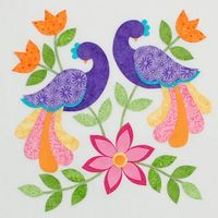 Step 1 in applique tutorial for this block. Wonderful site for detailed applique instructions. Applique Quilt Patterns, Applique Templates, Hand Applique, Machine Applique, Applique Designs, Embroidery Applique, Embroidery Designs, Applique Tutorial, Quilting Projects