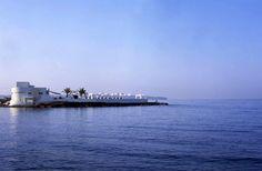 Einer der beliebtesten Szene-Treffs Mallorcas: Der Puro Beach Club auf einer Halbinsel an der Cala Estancia