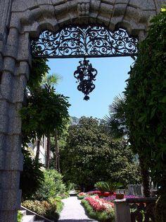 Varenna - Giardini della Villa Monastero - Lake Como, Italy