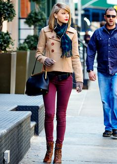 Taylor Swift seen after shopping at the 'Steven Alan' store in Tribeca. March 27th, 2014
