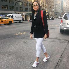 Executive Fashion Director of Cosmopolitan & Seventeen @ayatkanai, in Vanguard