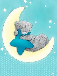 Tatty Teddy Wish on a star Tatty Teddy, Baby Print, Watercolor Card, Teddy Bear Quotes, Lapin Art, Teddy Bear Pictures, Blue Nose Friends, Baby Clip Art, Love Bear