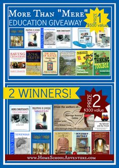 Golden Grasses: Mere Christianity Education Give-Away!