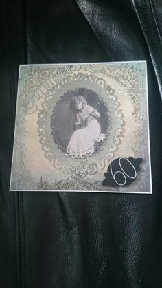 Damekort. Female card. Made by me BBH