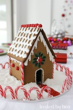 candy cane fence - great!  Also like pretzel fences.