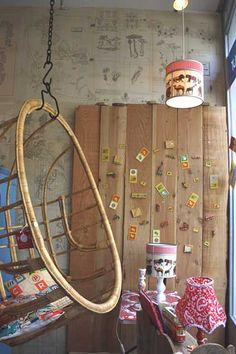bamboe hangstoel by Het Grote Avontuur, via Flickr
