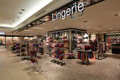 Lingerie Store   新光三越   Knott. InteriorDesign  #shinkongmitsukoshi#Kaohsiung Sanduo-5F #新光三越#高雄三多店 5F#百貨店#departmentstore#インテリアデザイン#interiordesign