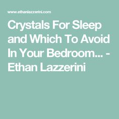 What are the best crystals for sleep problems and disorders? Learn which crystals to use and avoid in the bedroom for a better nights sleep. Crystals And Gemstones, Stones And Crystals, Gem Stones, Healing Stones, Crystal Healing, Crystals For Sleep, Crystal Guide, Meditation Space, Mindfulness Meditation