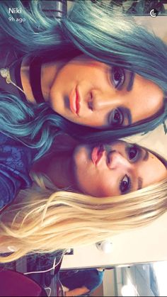 Niki and Alisha .