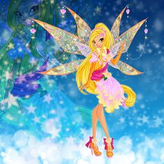 Fanarts with official Winx Club fairies