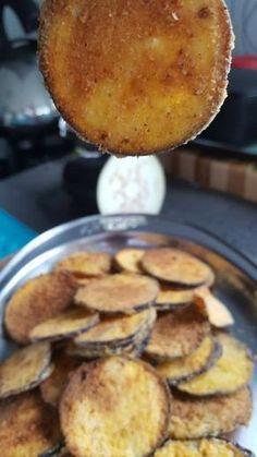 Berinjela crocante: frita no forno
