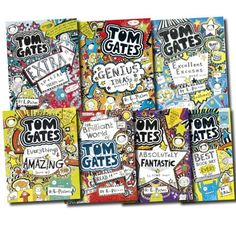 Tom Gates Collection 7 Books Set (The Brilliant World of Tom Gates, Excellent Excuses, Everything's Amazing , Genius Ideas, Best Book Day Ever! , Extra Special Treats, Tom Gates is Absolutely Fantastic) by Liz Pichon http://www.amazon.co.uk/dp/B00G6Q8LYE/ref=cm_sw_r_pi_dp_vNVjub13C89Z7