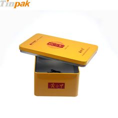This rectangular tin box is not only perfect for packaging cookies, nuts, chocolate, biscuits, tea, and more, but also ideal as premium gift tin box. http://www.tinpak.us/Products/Vintagemetalcookiesbox.html