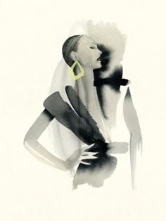 Cecilia Carlstedt - Swedish fashion illustrator - so beautiful