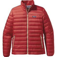 Getting out of your sleeping bag on a frigid alpine ascent can be daunting, but with the Patagonia Men's Down Sweater Jacket you can take the comfort of your sleeping bag up the mountain with you. With a DWR treated recycled polyester ripstop shell and lining, this down jacket will repel moisture and wind leaving the 800-fill goose down to keep your body well insulated all the way to the summit.