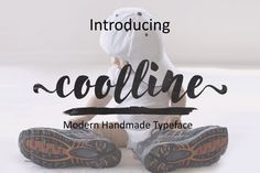 Coolline is a handwritten brush font that is packed with many alternates and swashes. Business Brochure, Business Card Logo, Creative Fonts, Creative Design, Branding Materials, Character Map, Brush Font, All Fonts, Script Fonts