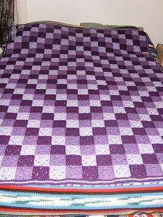 Ravelry: Around the World Crochet Quilt pattern by Karen Buhr