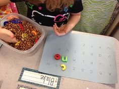Finding and matching letters
