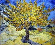"Vincent Van Gogh (1889) - ""Mulberry Tree."":"