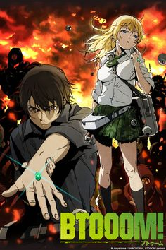 Crunchyroll - BTOOOM! Full episodes streaming online for free (Halo meets Far Cry meets Lost meets Future Diaries)