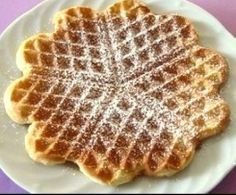 Gute Waffeln aus dem Jahre 1902 Recipe Good waffles from 1902 by Litsili - recipe from the category Waffle Recipes, Brunch Recipes, Sweet Recipes, Baking Recipes, Best Pancake Recipe, Homemade Sweets, Thermomix Desserts, Shortbread Recipes, Pancakes And Waffles